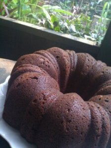 chocolate orange zucchini bundt cake
